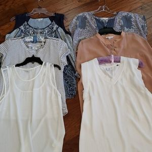 Six cabi tops, gently used condition